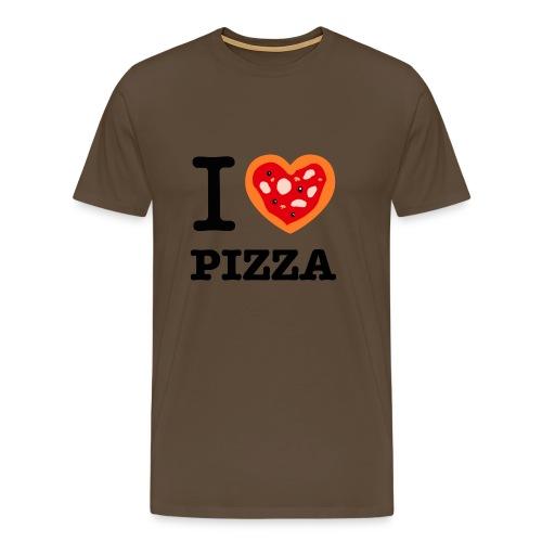 IlovePizza png - T-shirt Premium Homme