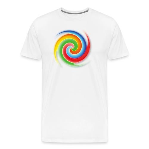 deisold rainbow Spiral - Männer Premium T-Shirt