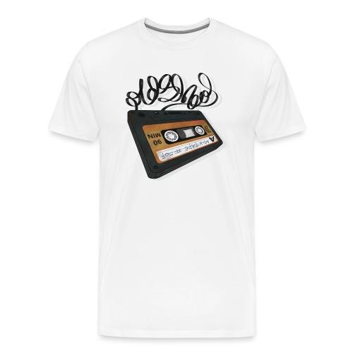 Oldschool Mixtape 507 - Herre premium T-shirt