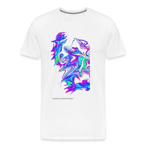 SHliquid half big - Männer Premium T-Shirt