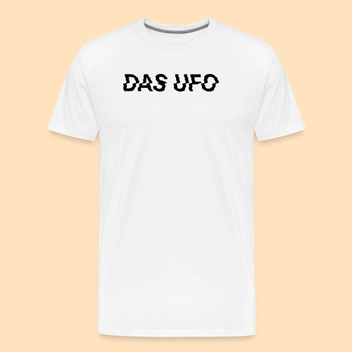 DAS UFO // Typography - Männer Premium T-Shirt