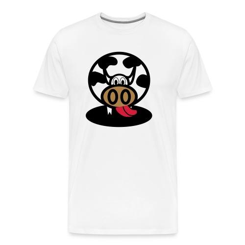 Kuh - Männer Premium T-Shirt