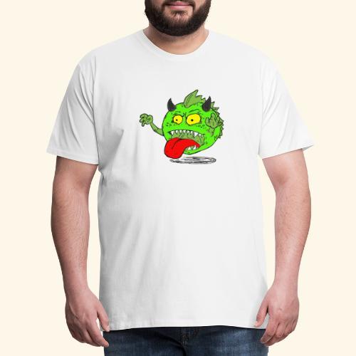 Monster Elkan - Herre premium T-shirt