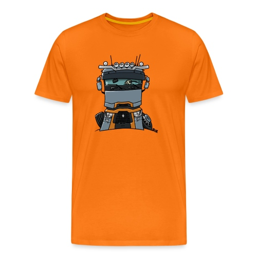 0813 R truck - Mannen Premium T-shirt