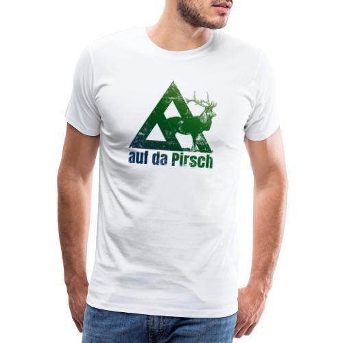 Auf da Pirsch - Männer Premium T-Shirt