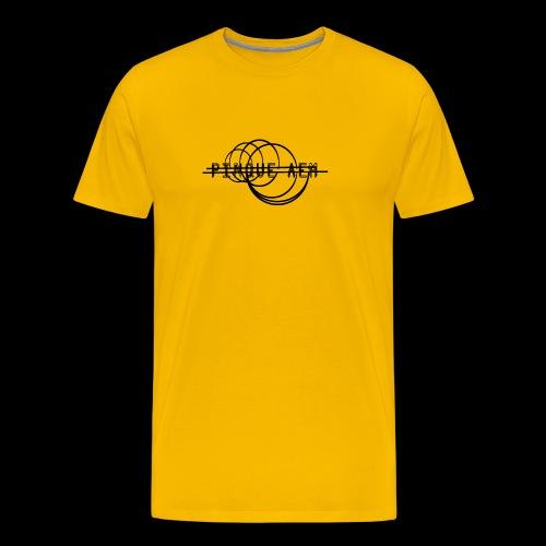 Pinque AEM NERO - Maglietta Premium da uomo