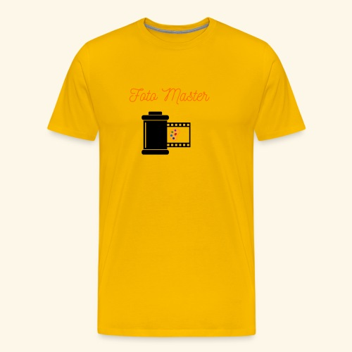 Foto Master 2nd - Herre premium T-shirt