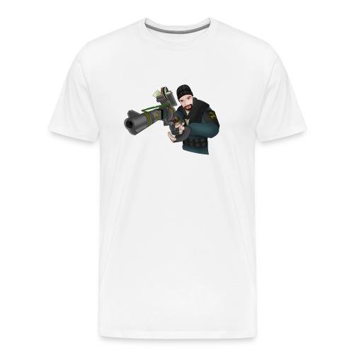 Garry s mod tool gun - T-shirt Premium Homme