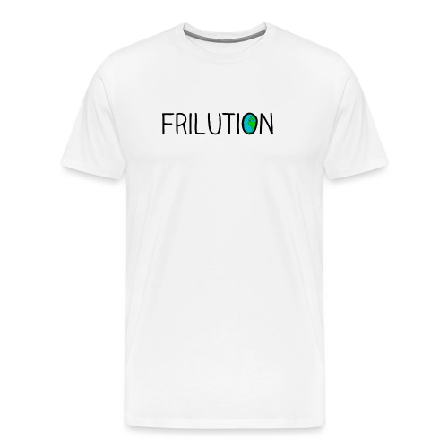 frilution world black - Maglietta Premium da uomo
