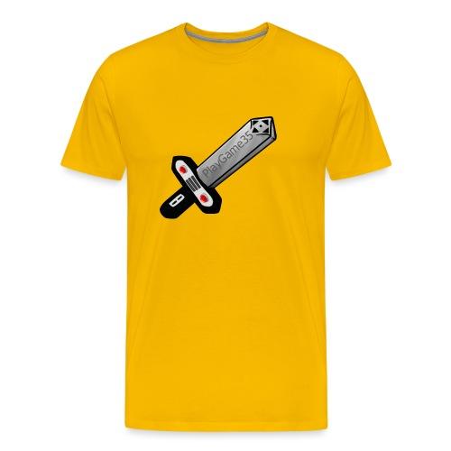Logo PlayGame35 - Maglietta Premium da uomo