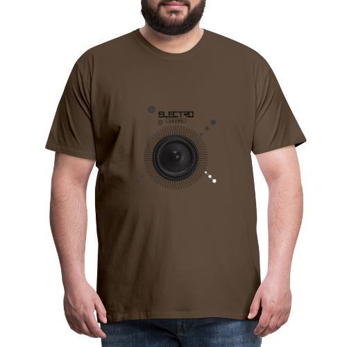 Electro Sound - Maglietta Premium da uomo