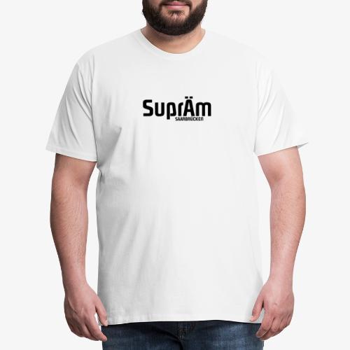 SuprÄm-Saarbrücken   BLACK - Männer Premium T-Shirt
