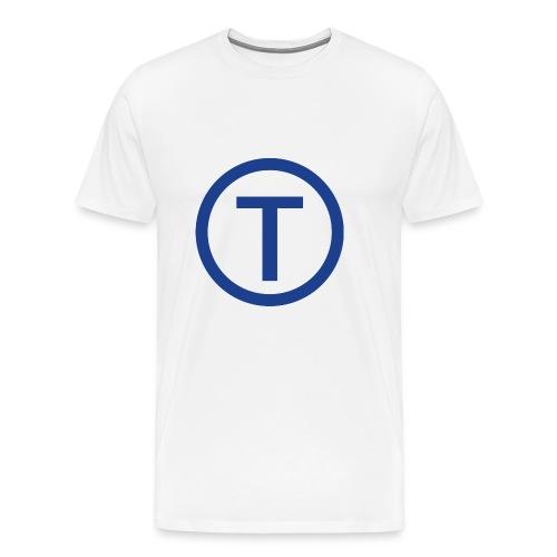 techwiz logo - Men's Premium T-Shirt