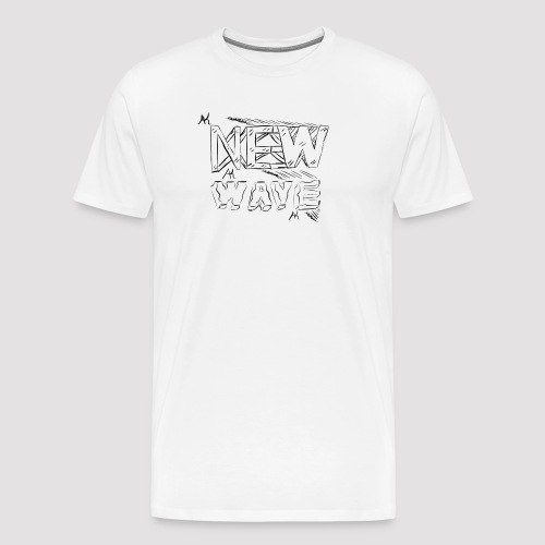 New Wave png - T-shirt Premium Homme