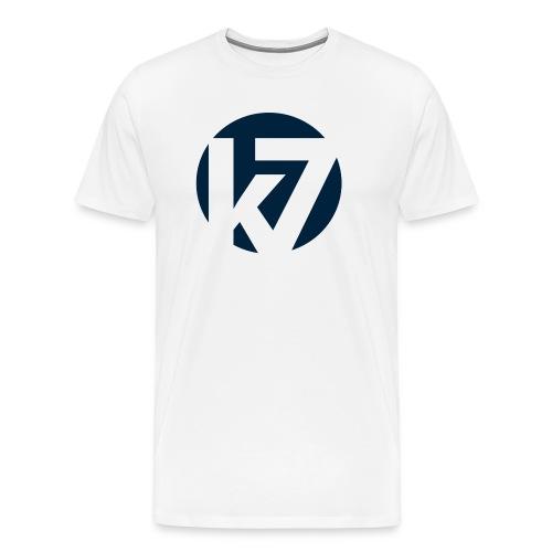 K7 Minutter Logo 2012 transparent png - Premium T-skjorte for menn