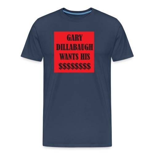 gary t copy png - Men's Premium T-Shirt