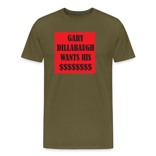 gary t copy png - Men's Premium T-Shirt