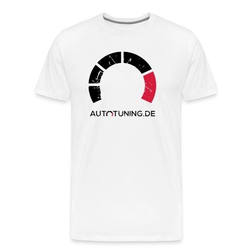 AUTOTUNING_LOGO_GRUNGE - Männer Premium T-Shirt