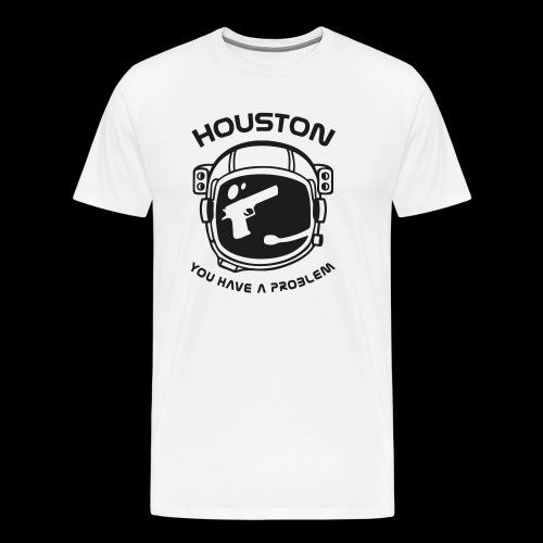 God bless America but... - Men's Premium T-Shirt