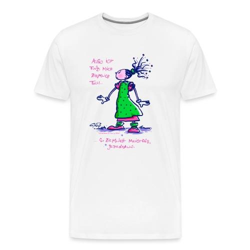 Stineliese...ziemlich toll! - Männer Premium T-Shirt