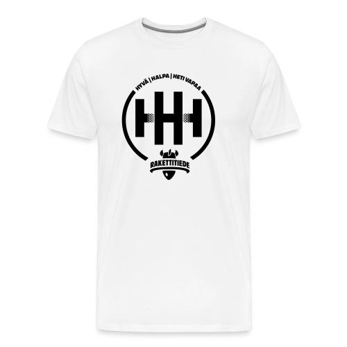 HHH-konsultit logo - Miesten premium t-paita