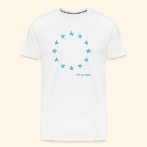 #myeurope mint - Männer Premium T-Shirt