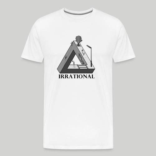 IRRATIONAL Penrose-triangle - Männer Premium T-Shirt