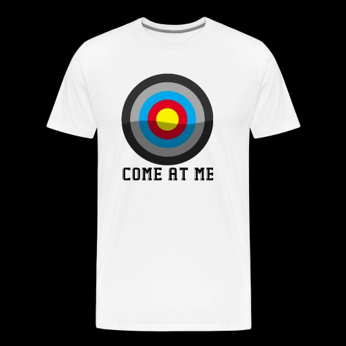 Come At Me - Herre premium T-shirt