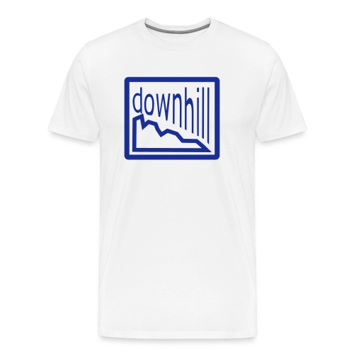 Bike Fashion Downhill - Männer Premium T-Shirt