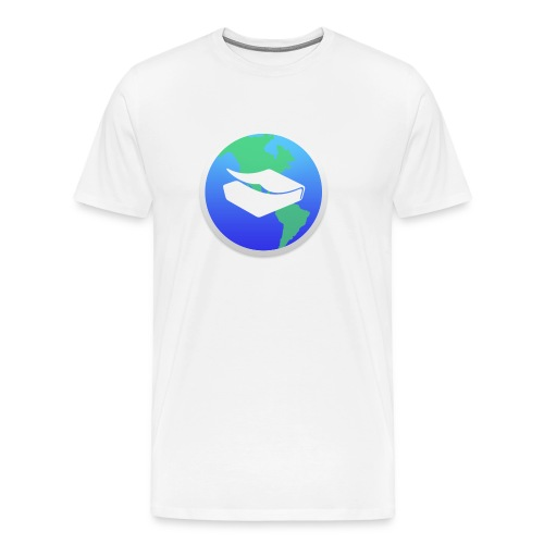 kaeru world icon - Men's Premium T-Shirt