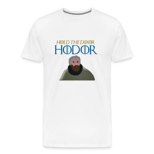 hodor3 png - Men's Premium T-Shirt