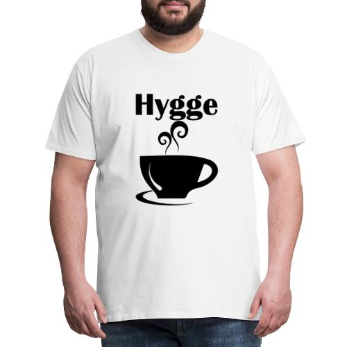 Hygge happy - Camiseta premium hombre