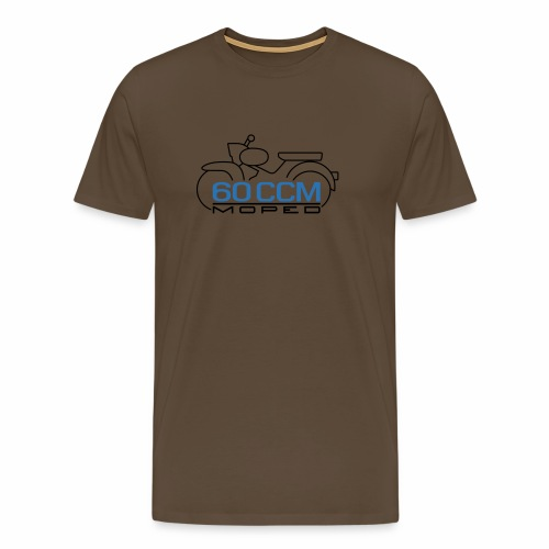 Moped Star 60 ccm Emblem - Men's Premium T-Shirt