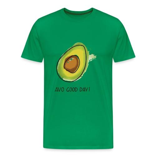 Fruit Puns n°2 Avo Good Day, Avocado - Männer Premium T-Shirt