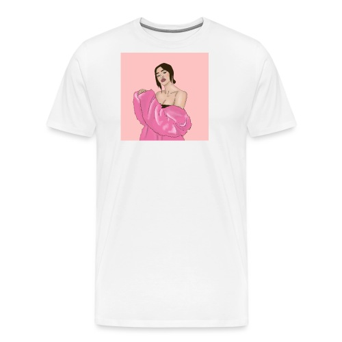 fur coat - Men's Premium T-Shirt