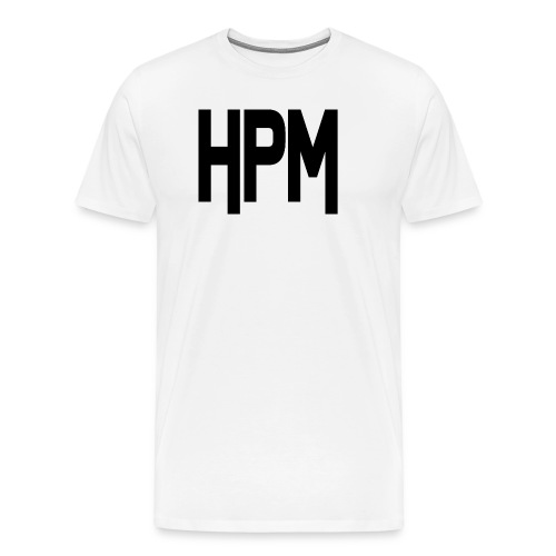 HPM LOGO - Herre premium T-shirt