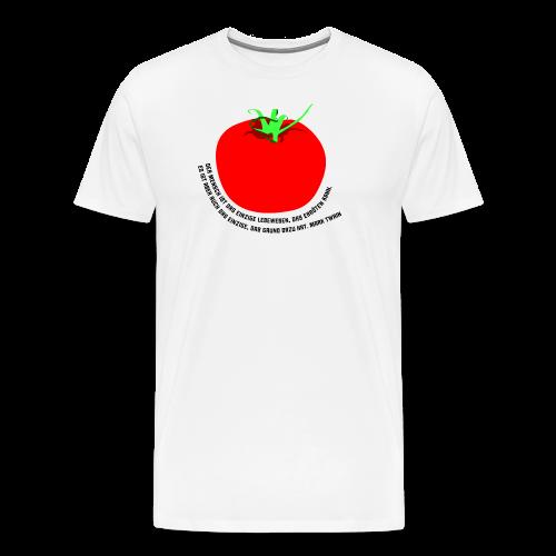 Tomate - Männer Premium T-Shirt