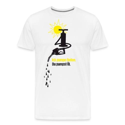 pumpen pixel - Männer Premium T-Shirt