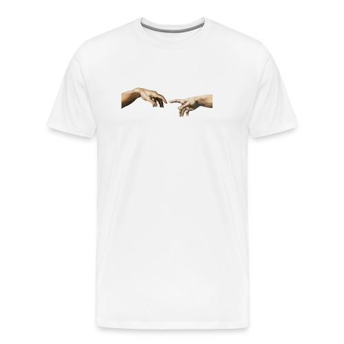 Da Vinci Hand Of God 2 - Männer Premium T-Shirt