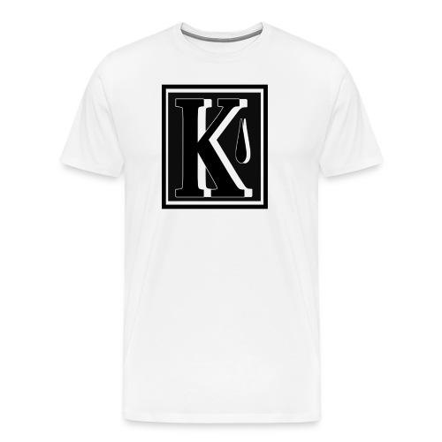 kaamos logo eka testi png - Miesten premium t-paita