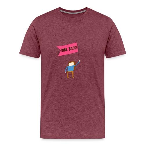 Gurl boss - Camiseta premium hombre