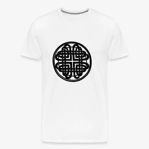 nudo celta negro - Camiseta premium hombre