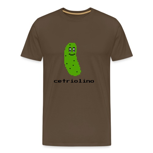 8-bit Pickle (Light T-Shirt) - Maglietta Premium da uomo