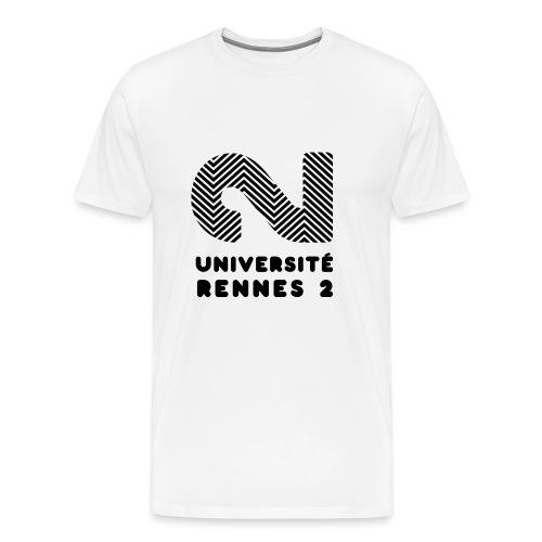 Université Rennes 2 - T-shirt Premium Homme