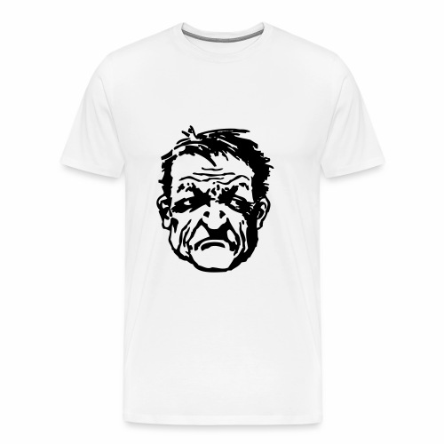 Wütender Blick - Männer Premium T-Shirt