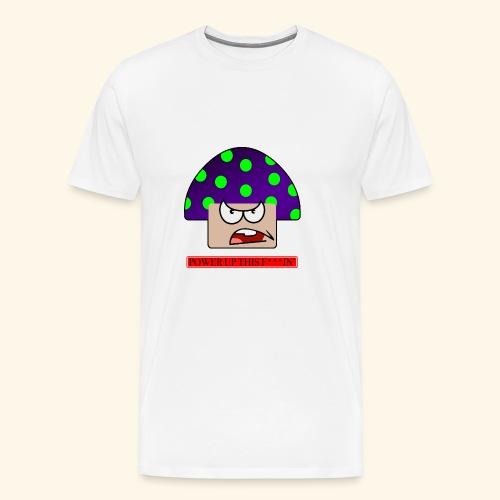 Angry mushroom - Maglietta Premium da uomo