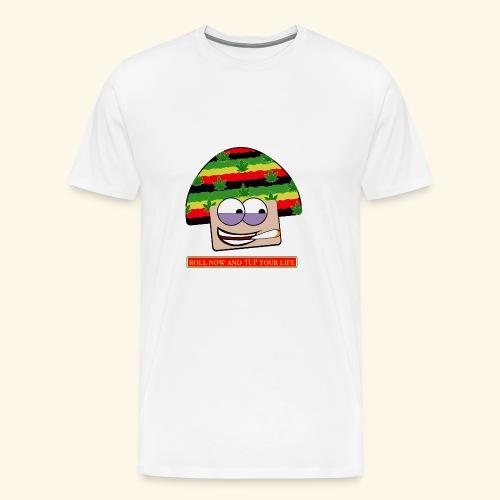 mushroom ganja-man - Maglietta Premium da uomo
