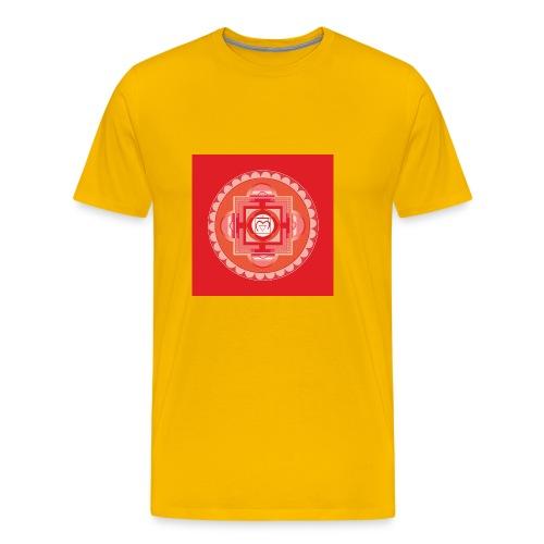 Muladhara - Root Chakra - Miesten premium t-paita