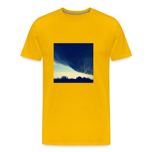 Be The Storm - Miesten premium t-paita