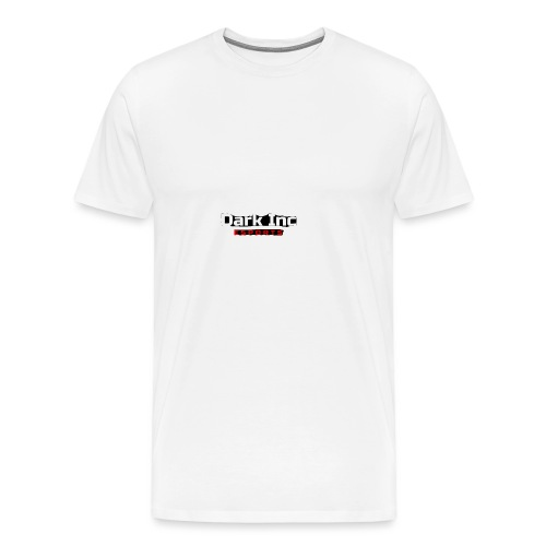 Dark Inc Text - Herre premium T-shirt